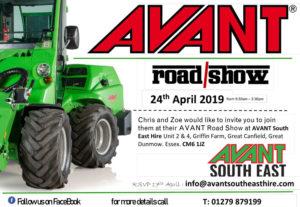 Invite to the Avant Roadshow